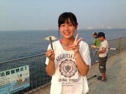 【朝一大盛況!家族でアジ大漁】南芦屋浜