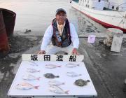 黒島の筏でマダイ&カワハギ