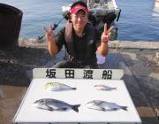 湾内の筏 チヌ・サバフグ・チャリコと多彩な釣果