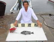 【25日】黒島の磯の底物釣果