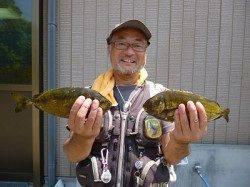 フカセ釣りでアイゴ・グレ! 湯浅の磯