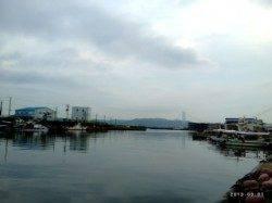 垂水漁港 ジグヘッド+ワームで豆アジ2匹☆