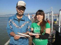 尼崎市魚つり公園、フカセでチヌ10枚の釣果あり!