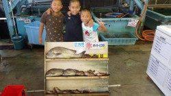 みなべ一本松にて釣り少年達のフカセ釣り・ズボ釣り釣果☆