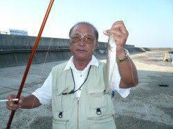 キスのサイズは25cmが最大、満足出来る釣行が出来ました