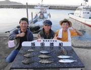 黒島の磯 マルアジ・カワハギなど多彩な釣果