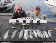黒島の筏 エギングでアオリイカの新子釣果