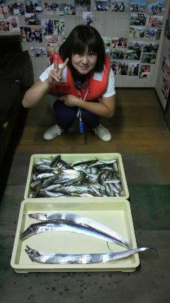 岸和田一文字 タチウオの釣果出てます