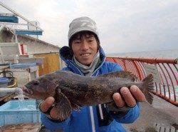 冬のグルメ アイナメを狙う【高田玲欧氏連載記事No.20】