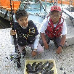 岸和田一文字 フカセ・紀州釣りでグレの釣果あり