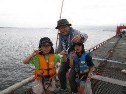 尼崎魚つり公園サビキでイワシ、ほか落とし込みのチヌ好調でした!