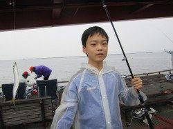 尼崎市立魚つり公園、朝夕のチヌは期待出来ます