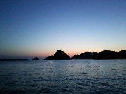 夕日港に夕方狙いでエギング釣行〜アオリイカ950gヒットしました