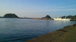 津居山港で昼過ぎからのちょい投げでキスの釣果