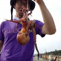 大阪南港魚つり園でサビキ釣り&タコ釣り