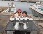 黒島の筏&磯でのヤエン釣りでは良型アオリイカあがってます