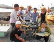 黒島の磯のルアー釣果〜シイラ&ハマチ