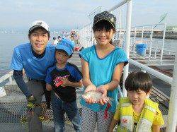 尼崎市魚つり公園 今日もサビキの釣果は無し