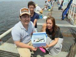 尼崎市立魚つり公園 サビキの釣果安定してきました