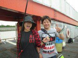 サビキ釣りは今日も絶好調!アジ・サバ大漁です★