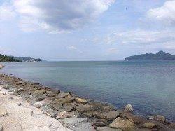 江尻でキス釣り!サイズは小さいですが遠投しなくても釣れました