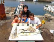 黒島の筏 ヤエンでアオリイカ・マダコ&ルアーでシイラの釣果