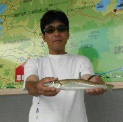小橋の波止で二人でキス29.4cmを頭に42匹の釣果
