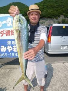 かご釣り~飲ませ釣りでシイラ!神谷沖一文字内向き