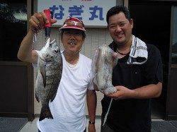 【19日】湯浅の磯でズボ釣りでチヌ&ヤエンでアオリイカ