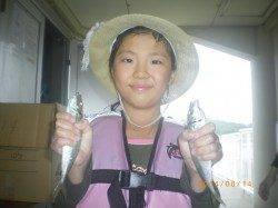 姫路市立遊漁センター サビキで良型アジ&ウキ釣りでグレ