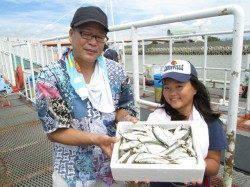 尼崎市立魚つり公園 サビキでアジサッパ好調、サヨリも高活性