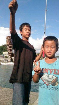 堺・一本松で大きいクエゴ(クエの子)が釣れました!