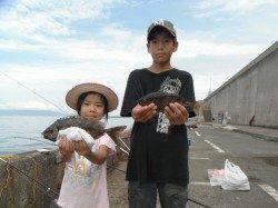 北港釣り公園 アイゴ・カマス・カワハギの釣果