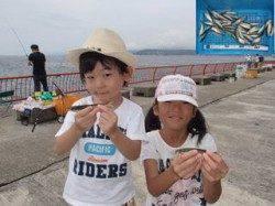平磯海づり公園 サビキ釣りお子様も楽しめます♪