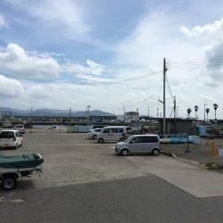 田ノ浦漁港にてサビキ釣り、アジのほかコノシロ・イワシなど