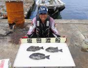 黒島の磯の底物釣果でサンバソウを3枚