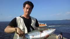 岸和田一文字 沖の北の青物釣果〜メジロ80cmやサゴシ