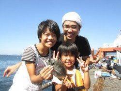 サヨリ、本日も絶好調☆尼崎市立魚つり公園