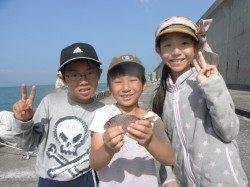 和歌山北港魚つり公園 キッズのチヌ釣果