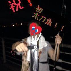 大阪南港 ルアーでF4のタチウオをゲット!