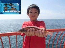 平磯海釣り公園 胴突き仕掛けでベラ&マルハギ