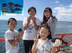 平磯海釣り公園 投げ&サビキでベラ・マルハギ・グレの釣果