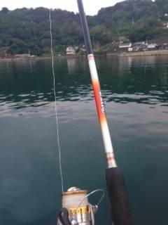 戸坂・塩津漁港 ボトム重視のワインディングでタチウオ釣れました