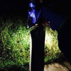 シーサイドコスモでタチウオ 夕方は引き釣り、暗くなってからはウキ釣りが◎