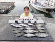 黒島の筏 チヌ・カワハギ・アイゴ、いずれも良型です