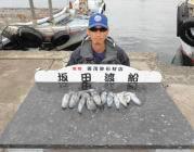 黒島の筏 ルアーでタチウオ・エギングでアオリイカ釣果