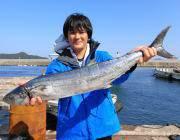黒島の磯ワームでタチウオ18匹 夜釣り、通しの釣果です!