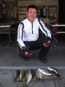 カマ磯 フカセでグレ・チヌ・アイゴの釣果