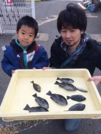和歌山マリーナシティ海釣り公園でグレ 初めて釣りを楽しめました
