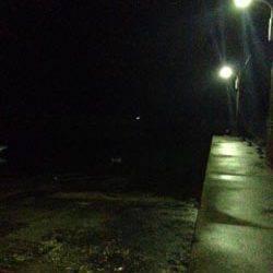 戸坂・塩津漁港 小雨降る中のアジングでアジ狙いも2匹のみ